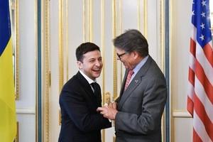 Встреча Владимира Зеленского с делегацией из США