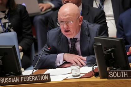 Выступление постпреда России в Совбезе ООН прервали
