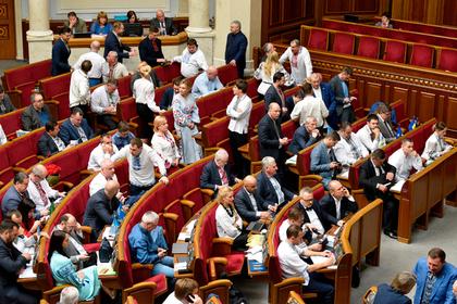 Украинских депутатов призвали к максимальной мобилизации против России