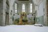 Храм Святой Живоначальной Троицы в Ломоносове начала XX века требует значительной реставрации. В настоящее время дверь храма обычно закрыта на замок. 27 марта 1939 года храм, как и другие в стране, закрыли, а само здание переоборудовали под киноклуб.