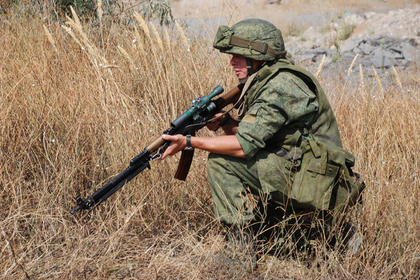 Боец спецподразделения народной милиции Донецкой народной республики