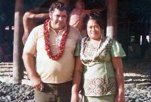 Родители Ланселота Тауоа, 1974 год