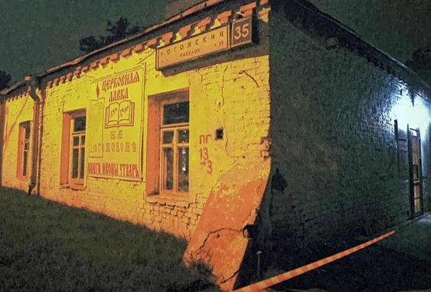 Старообрядческая церковь рядом с местом убийства Александра Сухоребрикова
