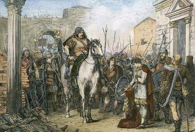 Падение Рима в 476 году