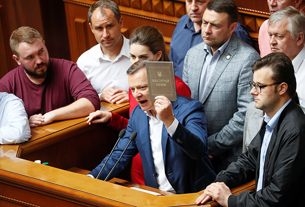 Лидер «Радикальной партии» Олег Ляшко