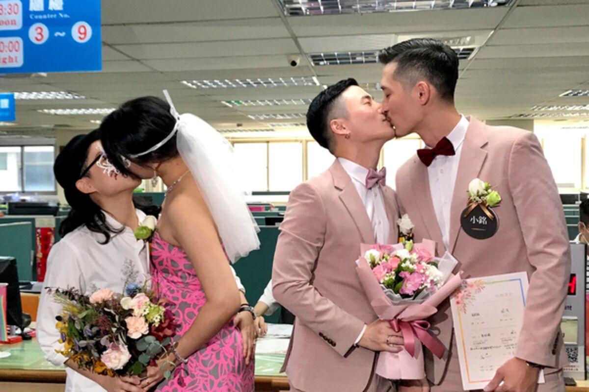 Image result for Первая в истории гей-свадьба прошла в Азии