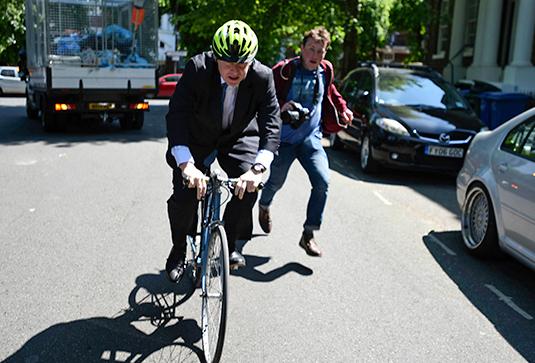 Борис Джонсон в Лондоне 23 мая