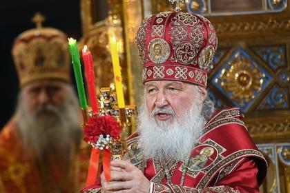 Патриарх Кирилл объявил о строительстве трех храмов в сутки