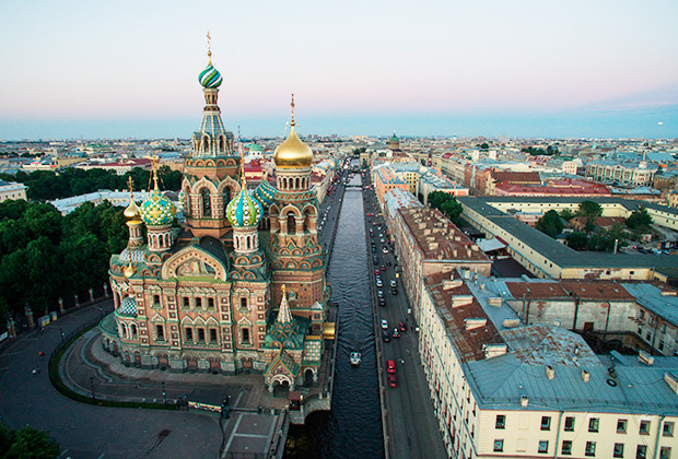 Храм Спаса на Крови в Санкт-Петербурге