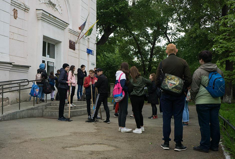 Школа № 107 города Челябинска