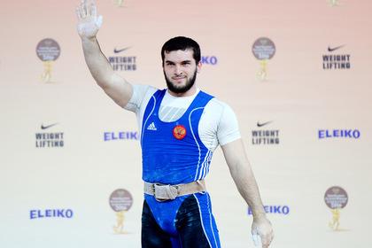 Чемпион Европы по тяжелой атлетике попался на краже в российском супермаркете