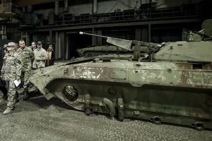 «Житомирский бронетанковый завод» приостановил работу цеха попроизводству БТР-4