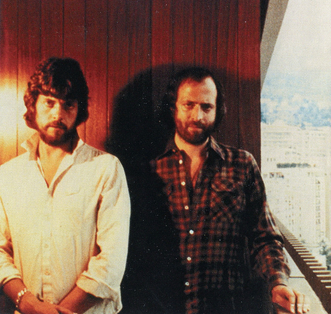 Алан Парсонс и Эрик Вулфсон. Фото из альбома Eve