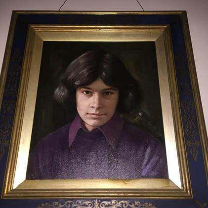 Портрет Чарльза Роджерса в юности