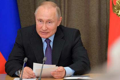 Путин внес в Госдуму законопроект о ракетном договоре