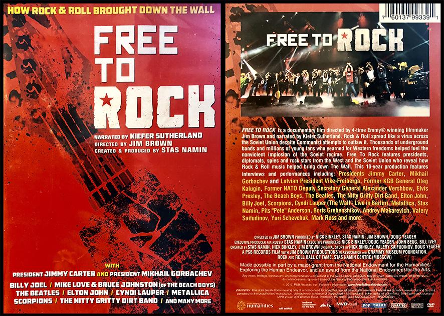 Документальный фильм Free to Rock, созданный Джимом Брауном, Стасом Наминым и др., в содружестве с Музеем «Грэмми» и Залом славы рок-н-ролла. Мировая премьера прошла на телеканале PBS в 2017 году, а в 2018 году фильм был выпущен на DVD в США