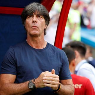 Тренер немецкой футбольной команды