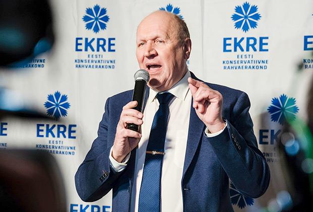Председатель Консервативной народной партии Эстонии Март Хельме