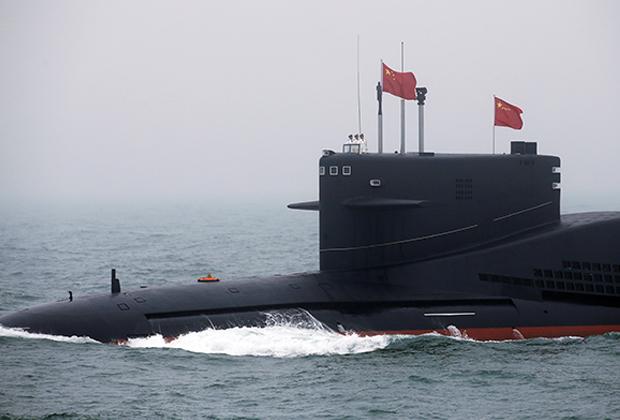 Китайская подводная лодка