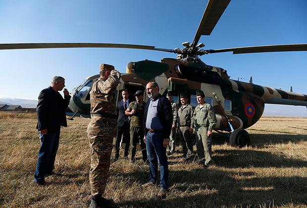 18 сентября  2018 года премьер-министр Никол Пашинян совершил рабочий визит в Республику Арцах