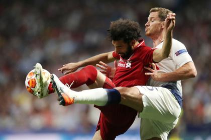 «Ливерпуль» обыграл «Тоттенхэм» в финале Лиги чемпионов