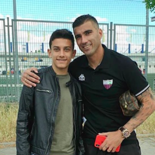 Хосе Антонио Рейес c сыном