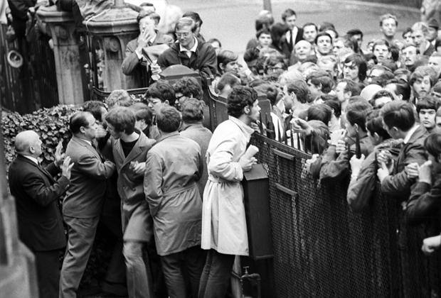 Протесты во Франции в мае 1968 года