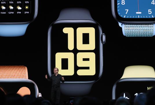 В watchOS 6 добавят еще больше циферблатов