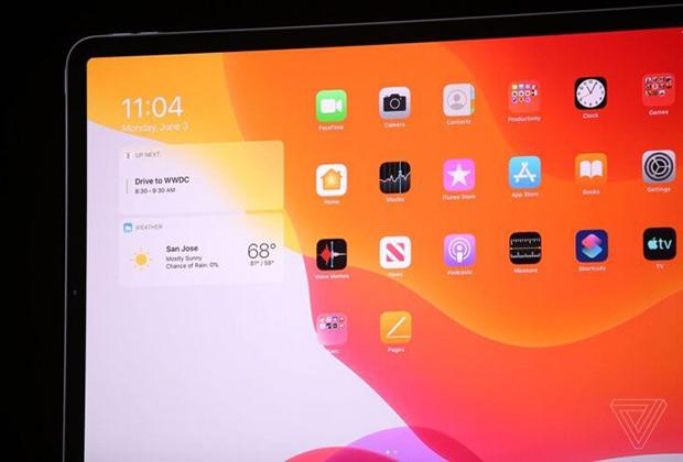 На главном экране iPad теперь можно поставить виджеты