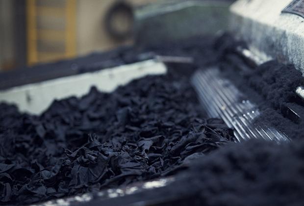 В год Hilatura Ferre перерабатывает три-четыре миллиона килограммов одежды, или 12 тонн в день.