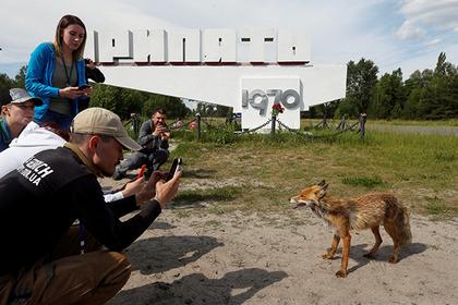 Туристы в Припяти, 2 июня 2019 года