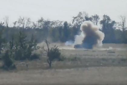 Появились подробности уничтожения грузовика ВСУ противотанковой ракетой