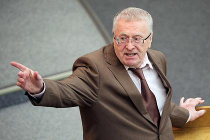 Жириновский призвал вернуть право на огнестрельное оружие