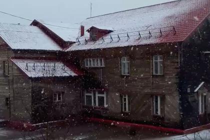 На Ямале выпал июньский снег