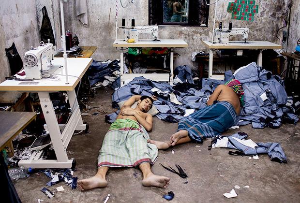 Проблема охраны труда в странах третьего мира столь же остра, как и проблема заботы об экологии.