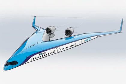 В Европе представили облик раздвоенного пассажирского самолета