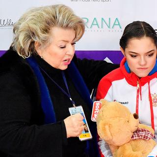 Татьяна Тарасова и Евгения Медведева