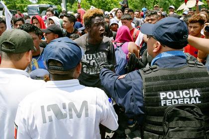 Мексика сдержит мигрантов вооруженной полицией