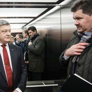 Петр Порошенко и Святослав Цеголко