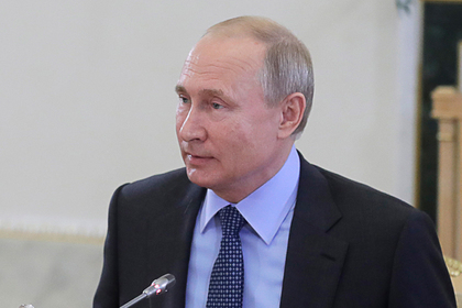 Путин призвал держать на контроле «огненного змея»