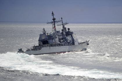 США переложили на Россию вину в опасном сближении кораблей