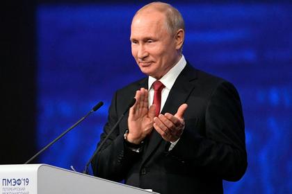 Путин оценил актерскую игру нового президента Украины