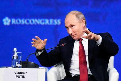 Путин высказался об идее объединить Россию и Белоруссию