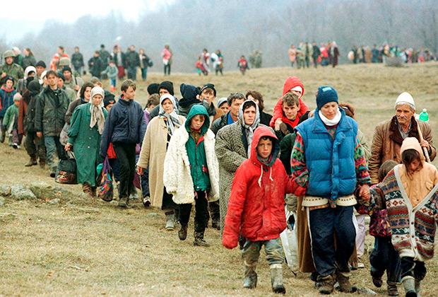Климатические беженцы будут стремиться в более благоприятные условия жизни, например, в Сибирь.