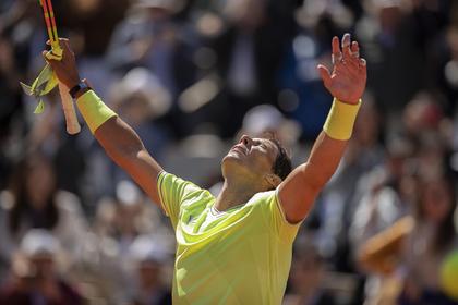 Надаль победил Федерера в полуфинале «Ролан Гаррос»