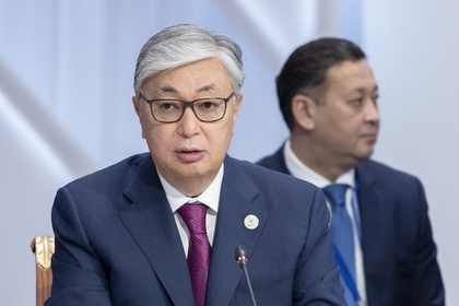 Tokayev winning Kazakh presidential vote with 71% of vote