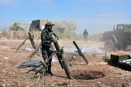 Сирийская армия нацелилась на важный холм