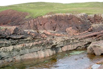 Неменее млрд. лет назад рядом спобережьем Шотландии упал крупный астероид
