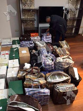 8,5 миллиардов рублей наличными, найденные при обысках у полковника Захарченко