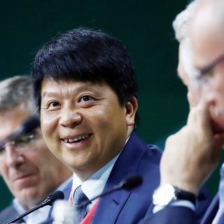 Исполнительный директор Huawei Пин Го на ПМЭФ-2019